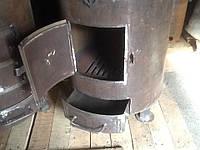 Печка для отопления помещений сталь 8мм