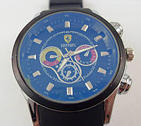 Мужские наручные часы Ferrari 012887 серебристые с черным