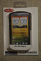 Чехол силиконовый Накладка Cellular Line Premiere Case для HTC One X S720e