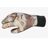 Перчатки для подводной охоты BS Diver Camolex 5 мм, серый камуфляж