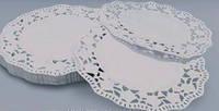 Ажурная салфетка под торт круглые D24cм (код 00696)