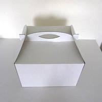 """Коробка самосборная для торта """"высокая""""30*30*40(код 01001)"""