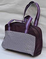 Женская спортивная сумка adidas сиреневая