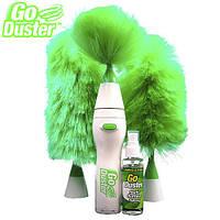 Метелка - щетка с насадками Go Duster, уборка пыли, метелка для пыли, щетка гоу дастер, антипыль, электрощетка