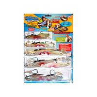 Наживка для рыбалки Майти Байт Mighty Bite мантибайт, наживка для рыб, силиконовые рыбки, приманки на хищника, набор рыбаку, набор наживок