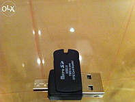 Картридер Micro SD TF Card Reader OTG USB 2.0 Micro USB карт ридер