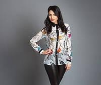 Купить шифоновую женскую блузу от производителя