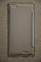 Чехол для телефона Lenovo K900. Силиконовая накладка. Бампер.
