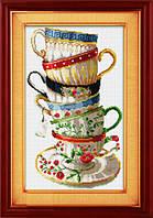 Набор для рисования камнями (холст) Набор кофейных чашек LasKo