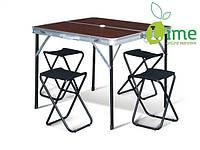 Раскладной стол HXPT-8833-A со стульями