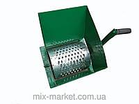 Корморезка ручная роторная (оцинкованный барабан)