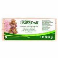 """Запекаемая полимерная глина Living Doll (ливингдолл), """"Beige"""""""