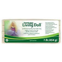 """Запекаемая полимерная глина Living Doll (ливингдолл). """"Light"""""""
