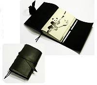 Подарок руководителю Блокнот кожаный Панда