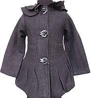Пальто демисезонное для девочек Букле