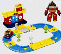 Робокар Поли Пожарная Станция и трансформер Рой в наборе Robocar Poli