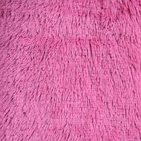 Меховое покрывало с длинным ворсом, Евро 220х240 - Цвет Малины
