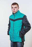 Куртка мужская зеленая, фото 1