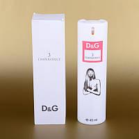 Женский мини-парфюм Dolce&Gabbana L`Imperatrice 3 45 ml (в белом тубусе) ALK