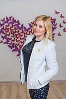 Курточка женская ШАНЕЛЬ белая, фото 1