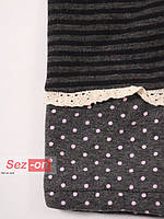 Лосины в полоску для девочки 2013 Серый