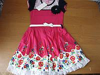 Детское летнее платье для девочки 6 лет Турция