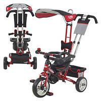 Детский трехколесный велосипед М 5362-5 Turbo Trike EVA Foam Красный