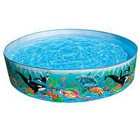 Детский круглый каркасный бассейн Intex 58472