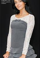 Гипюровая блуза
