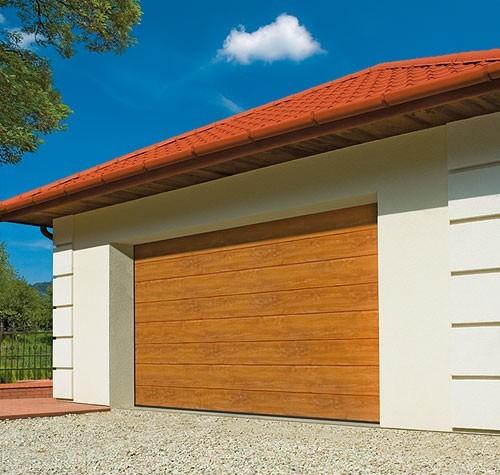 Купить гаражные ворота подъемные секционные в Ухте