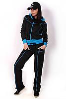 Женский  спортивный костюм с отделкой