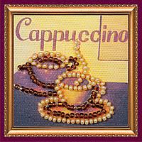 Набор для вышивки бисером магнит Капучино-дуэт
