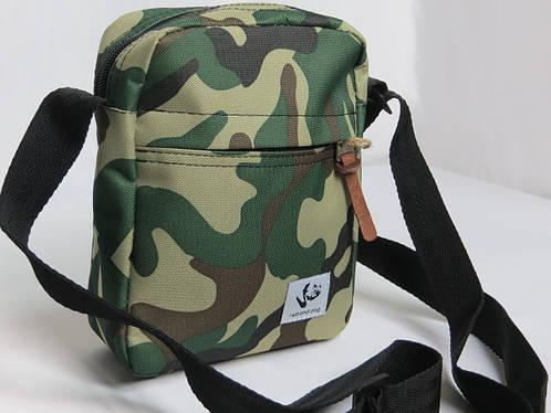 Городская сумка на плечо Red and Dog Tomen - Camo камуфляж ВхШхГ: 20х16х6 см.