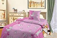Полуторный детский комплект (рисунок Кошечка Мари)