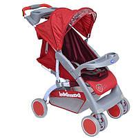 Детская коляска BAMBINI NEON STRAWBERRY + FOOTCOVER (C-12)