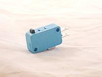 Микрик,концевик, микропереключатель для СВЧ (синий)