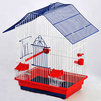 Клетка Шанхай  для птиц, крашеная, Украина
