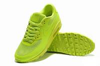 Мужские Кроссовки Nike Air Max 90 Hyperfuse салатовые