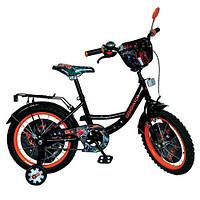 """Детский велосипед """"Generator Rex"""" 18 дюймов GR 0004 Черный"""