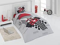 Подростковое постельное белье Kristal Rally полуторного размера.