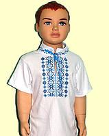 Вышиванка для мальчика с коротким рукавом