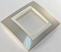 Рамка одномоместная Schneider electric Unica Plus шампань/слоновая кость