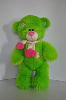 Мишка Тедди 56 х 31 см  зеленый