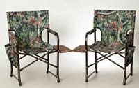 Кресло складное с откидным столиком