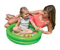 Надувной детский бассейн для малышей intex 58922