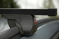 Автобагажник Amos Alfa, стальні балки 1,3 м / Багажник на крышу автомобиля Амос Альфа, стальные балки 130 см