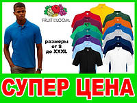 Мужские POLO FRUIT OF THE LOOM