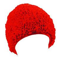 Шапочка для плавания Beco 7611 5 женская полиэстер красная