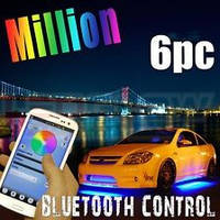 Подсветка днища LEDGlow Million Color Underbody Kit w/ Bluetooth Connectivity / Підсвітка дна автомобіля