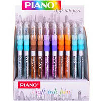 272 Ручка масло «Piano» синяя